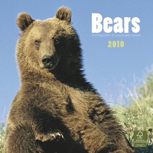 Bears 2010 Square Wall (Multilingual Edition) (2010 Calendar Bears)
