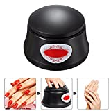 BlueTop Gel Nail Polish Acrylic Steamer Remover Portable Nail Resurrection Harmless Machine Nail Art Tools (electric,black) For Sale