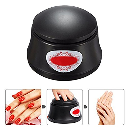 - Gel Nail Polish Acrylic Steamer Remover Portable Nail Resurrection Harmless Machine Nail Art Tools BLUETOP (electric,black)