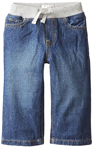 - The Children's Place Baby Boys' Pull-on Liberty Denim Jean, Liberty Blue, 18-24 Months