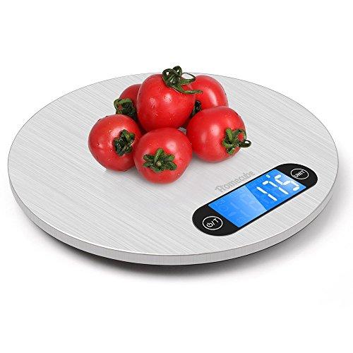 Homecube Elektronische Hoch Akurate Digitale Küchenwaage mit großer LCD Anzeige