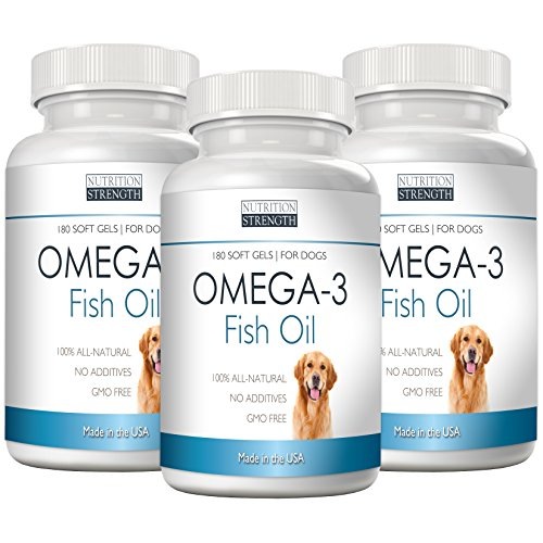 omega 3 wild fish oil for dogs nutrition strength epa dha