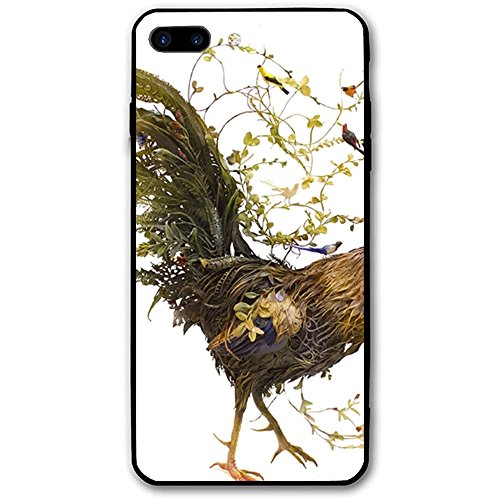 iPhone 8 Plus Case for Girls-Fit Ultra-Thin Anti-Scratch Shock Proof Dust Proof Anti-Finger Print PC Case for 5.5 inch Display - The Rooster
