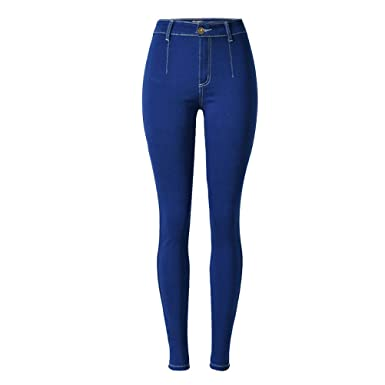 67fabf4465b9 Laixing Gute Qualität Popular Womens Stretch Jeans High Waisted ...