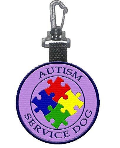 Sided Autism Service Dog Identification