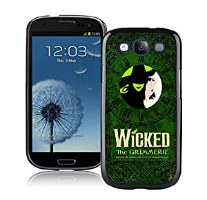 Wicked 1 Black Samsung Galaxy S3 Phone Case Charming and Melting Design