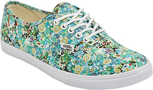 Pool Floral Vans Authentic Green Ditsy EtRqrPwzR