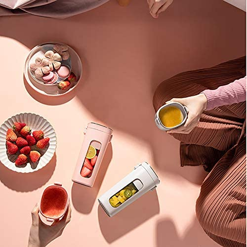 1 unid licuadora portátil Juicer taza fruta mezcladora 300 ml mini licuadoras 4 potentes cuchillas