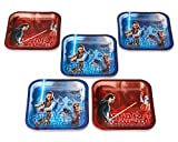 American Greetings Star Wars: The Last Jedi Dessert Square Small Party Plates, Dessert Plates, 40-Count