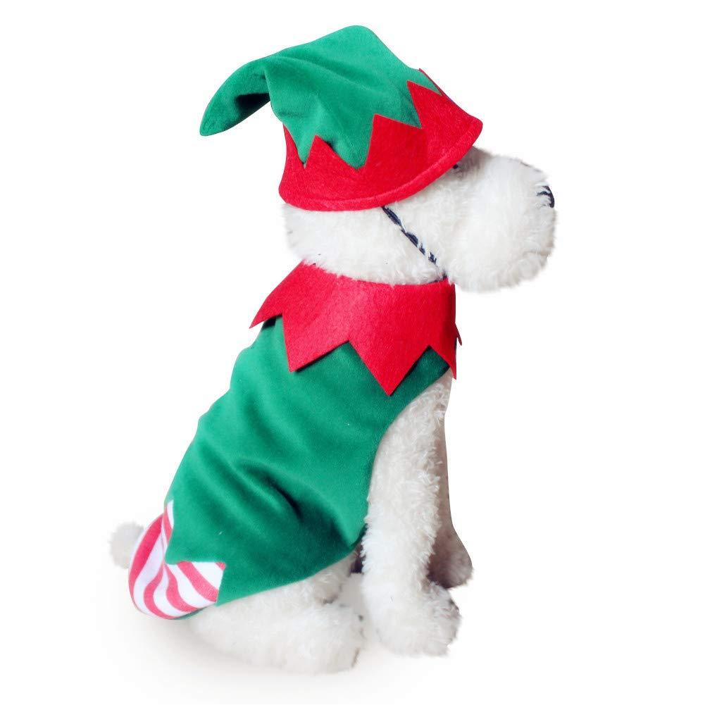 Runfon Mascotas Papá Noel Perro Vestido Disfraz de Halloween ...