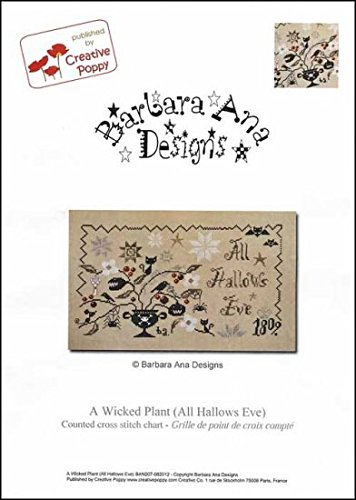 Wicked Plant (All Hallows Eve) Cross Stitch Chart