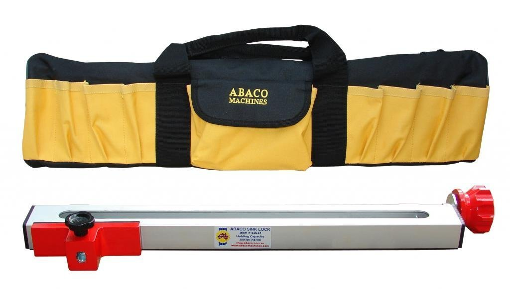 Abaco Sls24 - Sink Lock 24'' Includes Carry Case (Clamps) by Abaco Machines