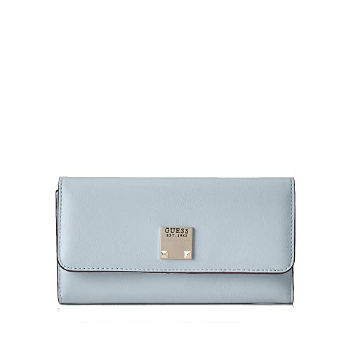 Guess - Lenia Slg Pocket Trifold, Mujer, Multicolor (Red ...