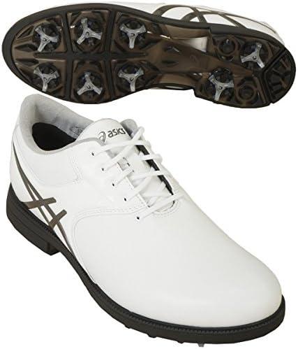 ゲルエース レジェンドマスター2 ゴルフシューズ TGN918 ホワイト/ガンメタル 25.0cm