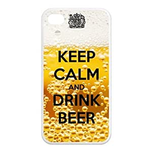 Custom Beer Design TPU Case Protector For Iphone 4 4S
