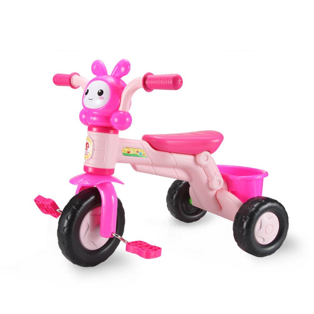 XQ 子供 軽量 EVA発泡ホイール 三輪車 1-3-5歳 子ども用自転車 ( 色 : ピンク ぴんく ) B07C7DM91Tピンク ぴんく