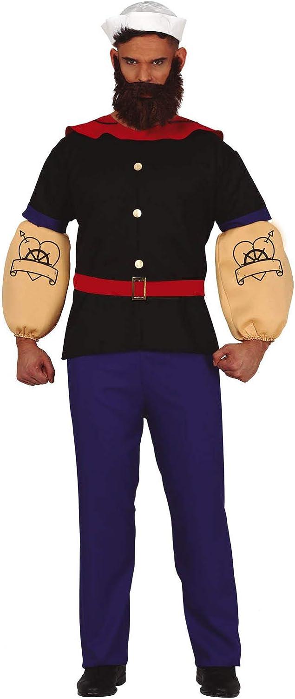 Guirca Disfraz de Marino Forzudo para Hombre: Amazon.es: Juguetes ...