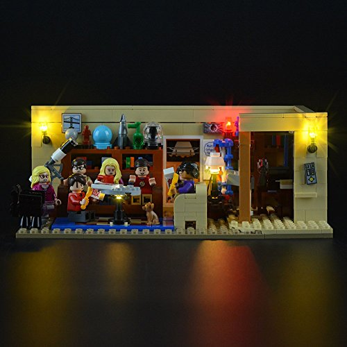 LIGHTAILING Light Set (Ideas Series The Big Bang Theory) Building Blocks Model - Led Light kit Compatible Lego 21302(NOT Included The Model)