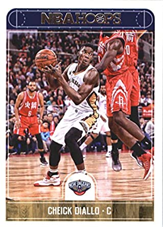Amazon com: 2017-18 NBA Hoops #165 Cheick Diallo New Orleans