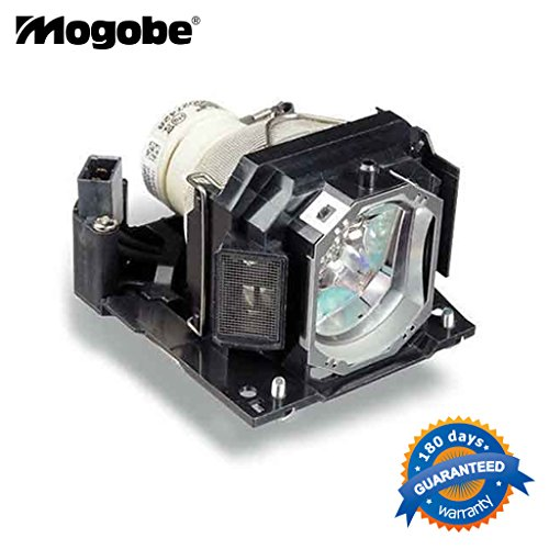 Mogobe DT01191 Replacement Projector Bulb / lamp In Housing Fit HITACHI CP-WX12WN CP-X10WN CP-X11WN CP-X2021 CP-X2021 WN CP-X2021WN CP-X2521 CP-X2521WN CP-X3021WN