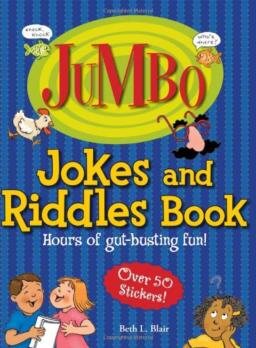 Jumbo Jokes And Riddles Book: Hours of Gut-busting fun! (Jumbo Kids' Books)]()