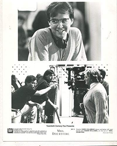 Amazon Com Mrs Doubtfire 1993 Chris Columbus Robin Williams Press Photo Mbx2 Entertainment Collectibles