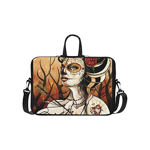SLsenD-Custom-Day-of-the-Dead-Classic-Water-Resistant-Computer-Bag-Laptop-Sleeve-Notebook-Case-Cover-17-173-inch