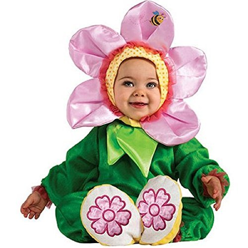 Pink Pansy Baby Infant Costume - Baby 12-18 -