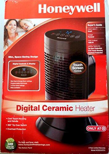Honeywell Digital Ceramic Heater, Touch Screen Control, Slim Design image