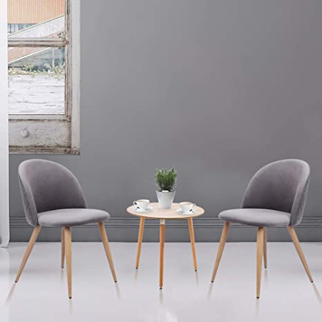 Excellent Amazon Com Dining Chair Bread Chair Cameo Modern Soft Clad Bralicious Painted Fabric Chair Ideas Braliciousco