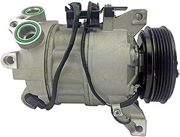 BEHR HELLA SERVICE 8FK 351 322-681 Compresor, aire acondicionado: Amazon.es: Coche y moto