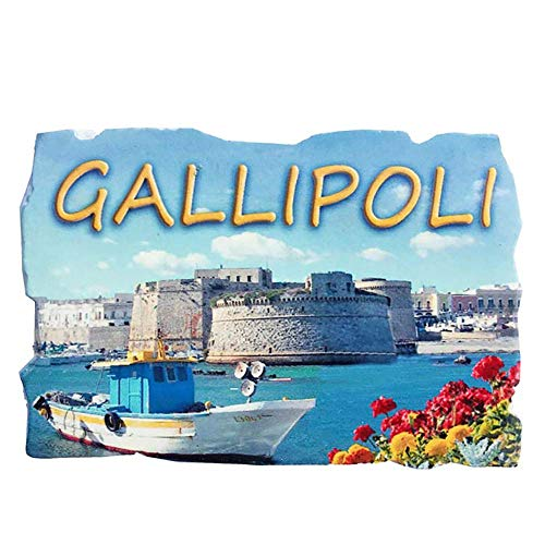 Gallipoli Turkey 3D Refrigerator Magnet Travel Sticker Souvenirs,Home & Kitchen Decoration Turkey Fridge Magnet from China (Best Souvenirs From Turkey)