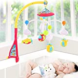 tiny craft brackets - Baby Musical Mobile crib dreamland bed toy Projection with Light and Remote Bed Hanging Rotation Tot