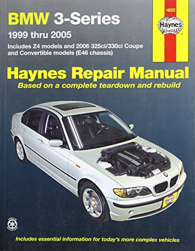 323i Part - Haynes 18022 Technical Repair Manual