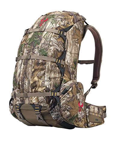 Badlands 2200 Camouflage Hunting Pack and Meat Hauler - Bow, Rifle, and Pistol Compatible, Realtree AP-Xtra