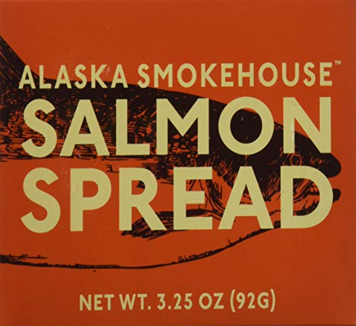 (Alaska Smokehouse Salmon Spread Serving  Design, 3.5 Ounce Boxes (Pack of 6))