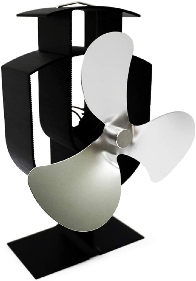3 hoja chimenea ventilador nuevo diseño energía térmica MUTE ...