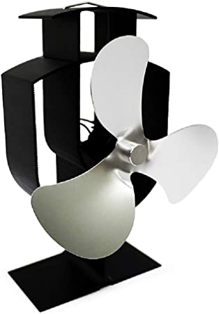 CLCYL Chimenea Ventilador Nuevo diseño energía térmica Poder Mute ...