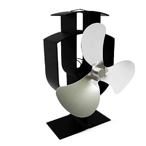 CLCYL Chimenea Ventilador Nuevo diseño energía térmica Poder Mute Estufa de leña Estufa de Aire Caliente