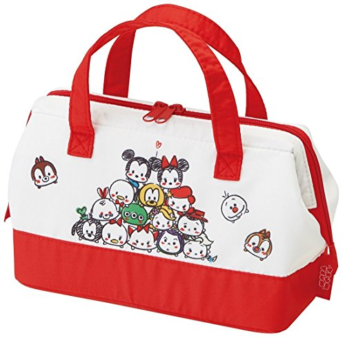 Disney Tsum Tsum Pouch Type Cold Insulation Lunch Bag Bento Cooler Bag with Thermal Lining by Skater KGA1 from Japan
