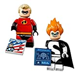 LEGO Disney Series Minifigures - Mr. Incredible and Syndrome (71012)