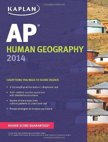 Kaplan AP Human Geography 2014 (Kaplan Test Prep)