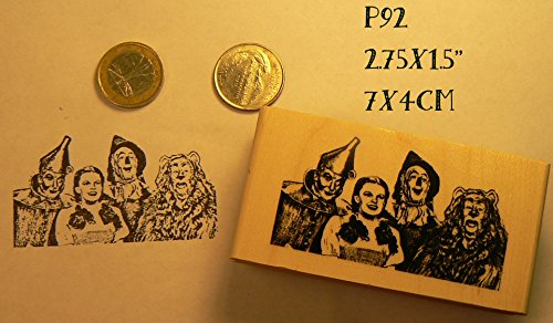 (P92 Wizard of Oz rubber stamp)