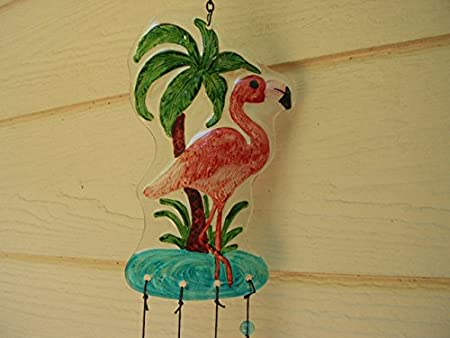 Spoontiques Flamingo Wind Chime