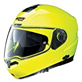 NOLAN Tiny Headset one stated in N104 EVO N-COM-Hi-VISIBILITY Fluorescent Yellow-Yellow