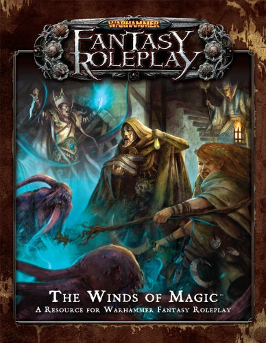 Warhammer Fantasy Roleplay Winds of Magic by Fantasy Flight Games