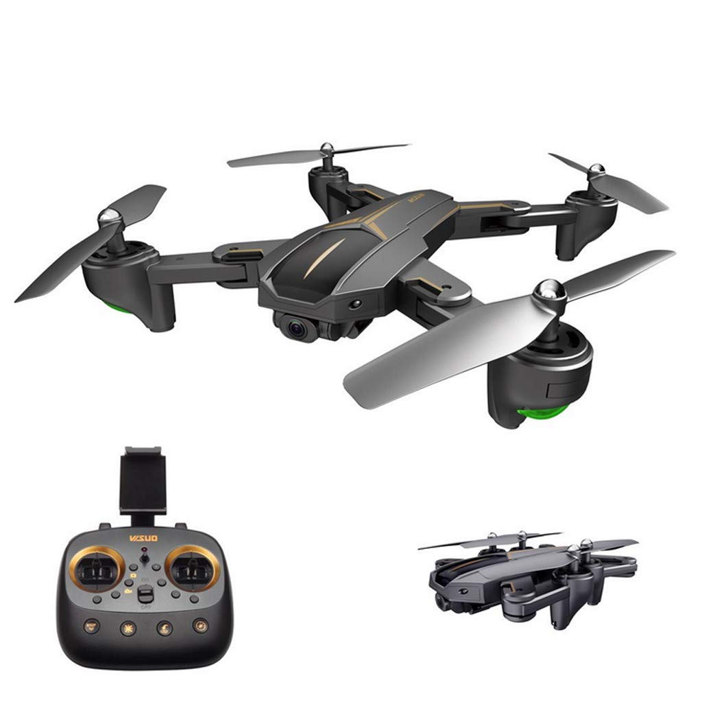 MOZATE VISUO XS812 GPS 5G WiFi FPV 5MP 1080P Wide Angle HD Camera Foldable RC Quadcopter Drone + Two Battery (Black, A) by MOZATE (Image #2)