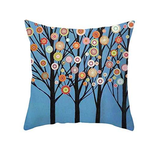 - Weiliru Summer Style Colorful Succulents Plants Cactus Home Décor Pillowcase Cotton Linen Throw Pillow Case Cushion Cover