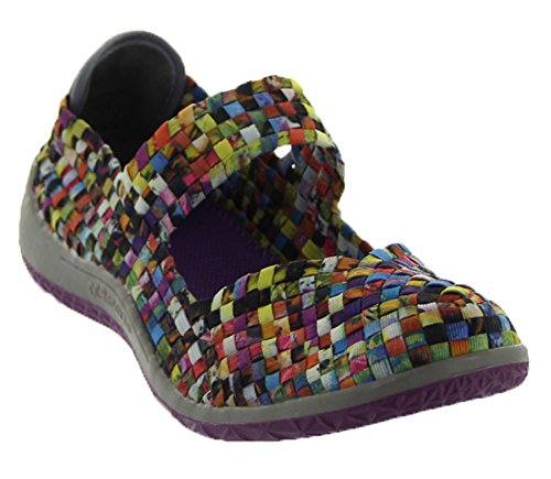 Sammi in Mosaic Multi By C.c. Resort Shoes (7-7.5) (Cc Resort Shoes)