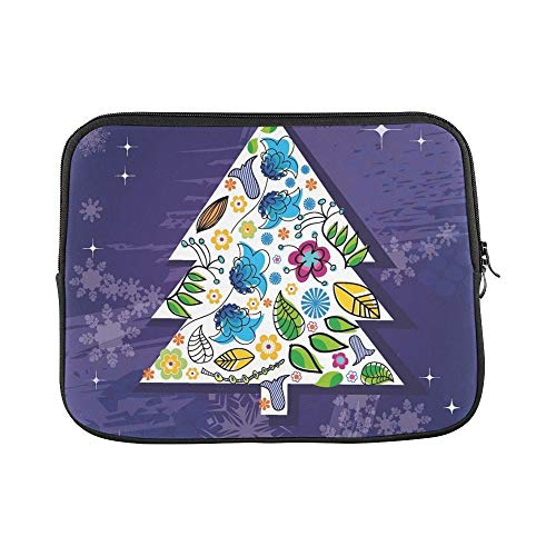 (Design Custom New Year 2012 Christmas Sleeve Soft Laptop Case Bag Pouch Skin for MacBook Air 11